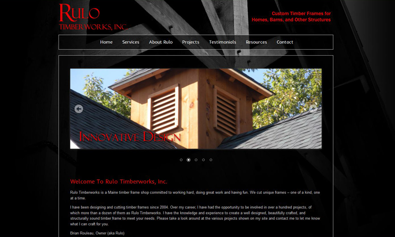 Portfolio of Web Design Projects and Clients on